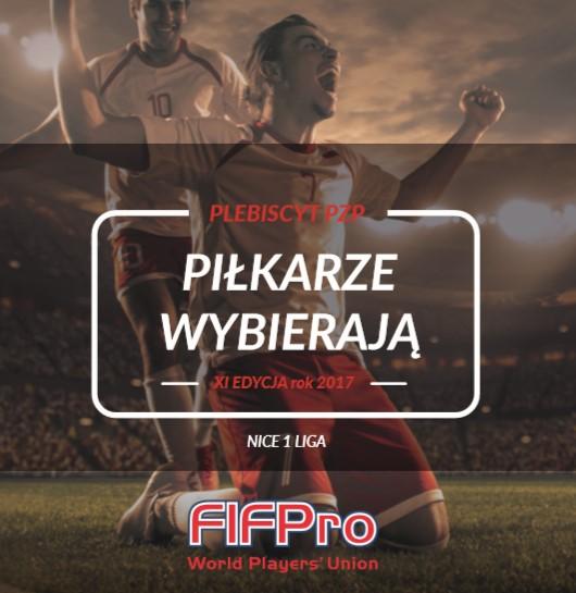 Piłkarze Wybierają 2017 – nominacje Nice 1 Liga