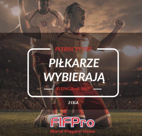 Piłkarze Wybierają 2017 – nominacje 2 Liga