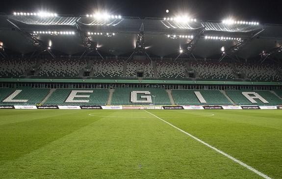 Ranking muraw Lotto Ekstraklasy: Legia w potrójnej koronie